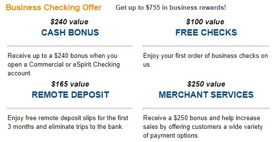 First American Bank Promotions September 2019: $50, $755