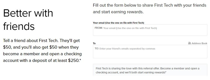 First Tech Federal Credit Union Promotion