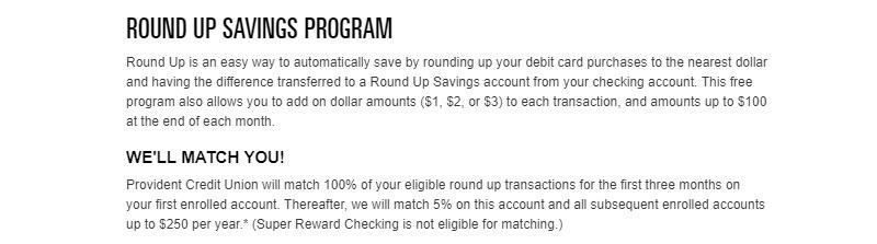Provident Credit Union Promotion