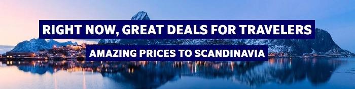 Scandanavian Airlines Great Deals Promotion