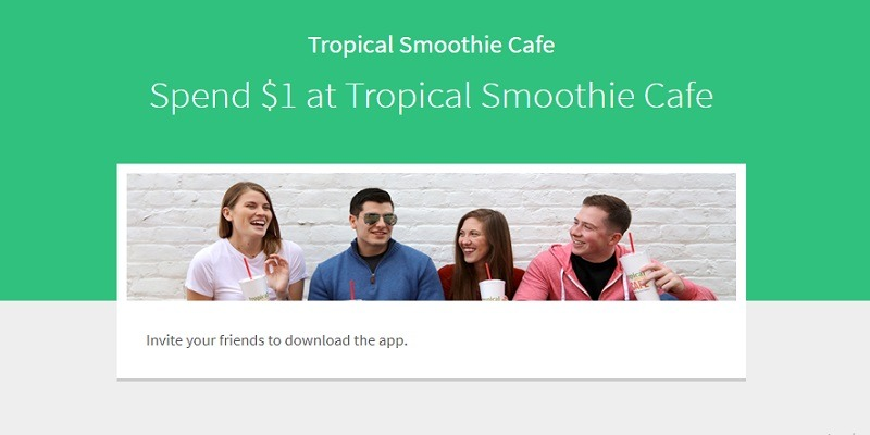 Tropical Smoothie Cafe Promotion