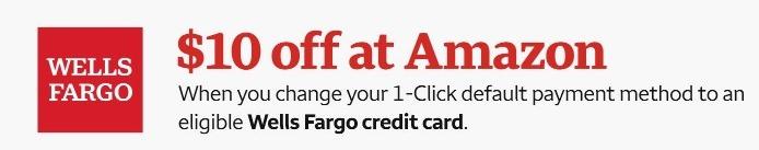 Amazon Wells Fargo Promotion