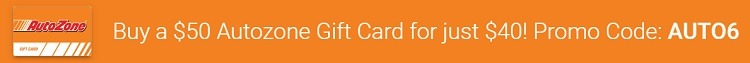 Autozsone Gift Card eGifter
