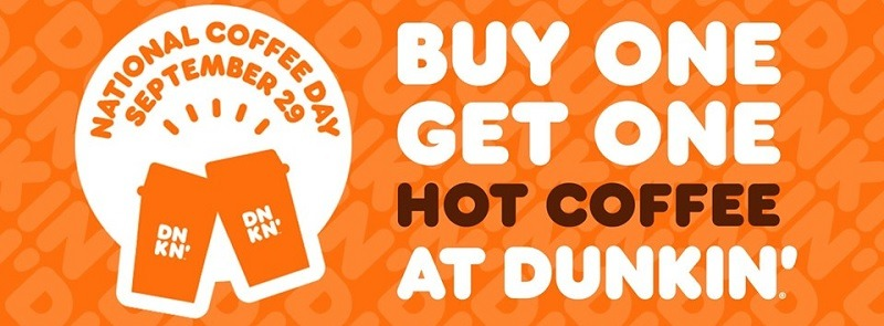 Dunkin Donuts Promotion