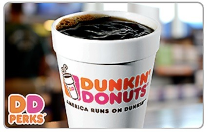 Dunkin Donuts Ebay GC promotion
