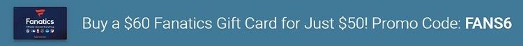 fanatics gift card egifter