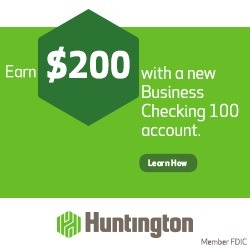 Huntington Business Checking 100 account