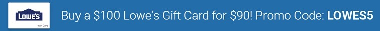 lowe's gift card promotion eGifter Promotions