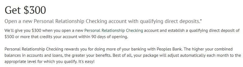 Peoples Bank Info