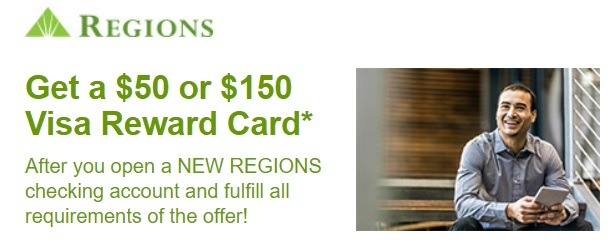 Regions Bank Business Bonus