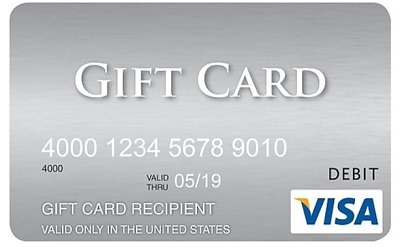 Save Up to $25 on Visa Gift Card Purchase