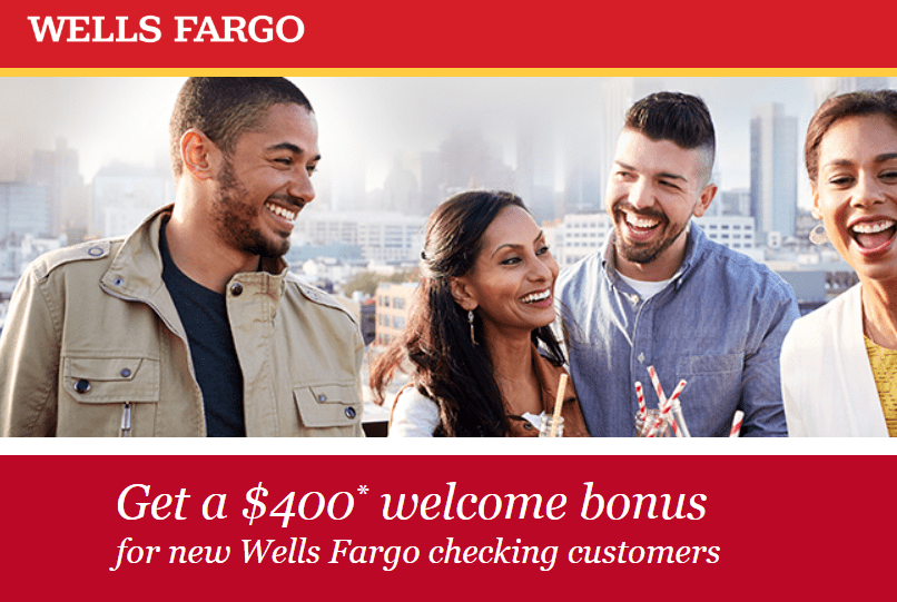 Wells Fargo Promotions September 2019: $200, $300, $400