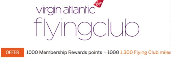 amex transfer offer virgin atlantic