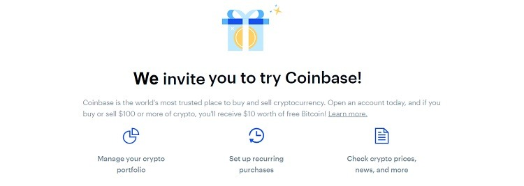 Coinbase Promotions