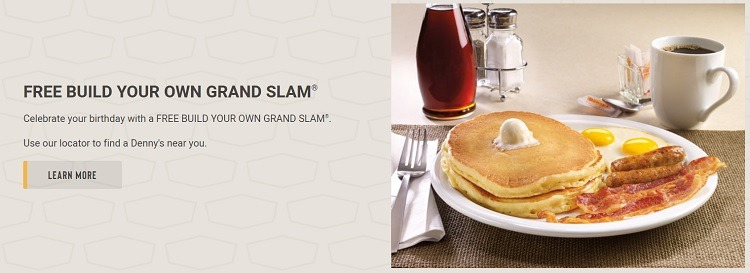 Denny's Promotions