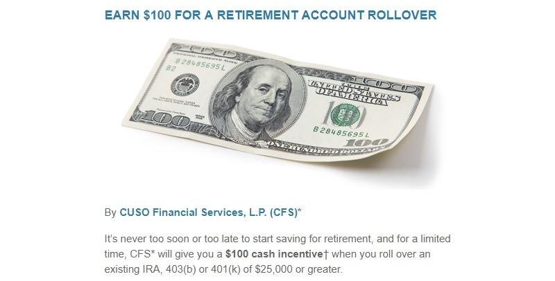 Bellco Credit Union Retirement Promotion