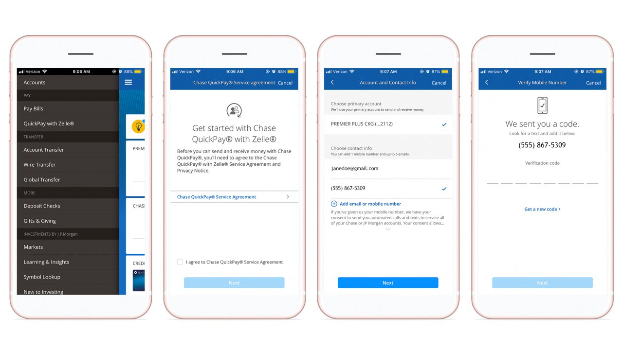 How to use Chase Quickpay with Zelle