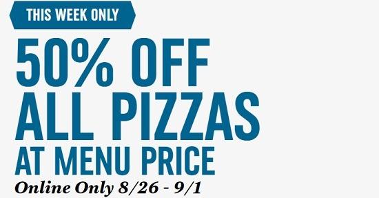Domino's 50 percent promotion
