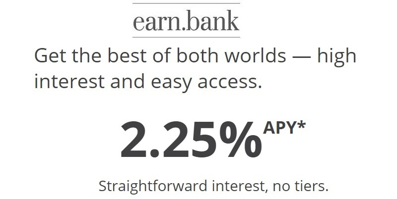 Earn Bank Money Market Review: 2 25% APY Rate (Nationwide)