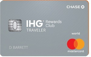 IHG Rewards Club Traveler Credit Card Bonus
