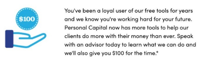 Personal Capital Advisor Promotion