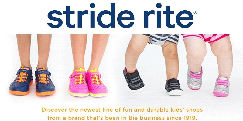 Stride Rite Promotions July 2019
