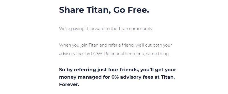 Titan Invest Promotion