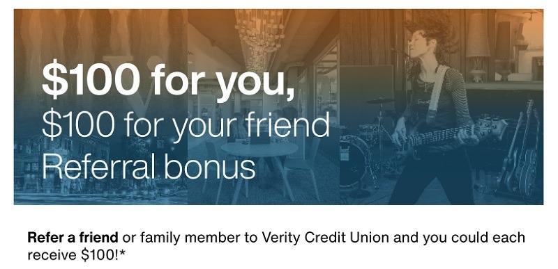 Verity Credit Union Promotion