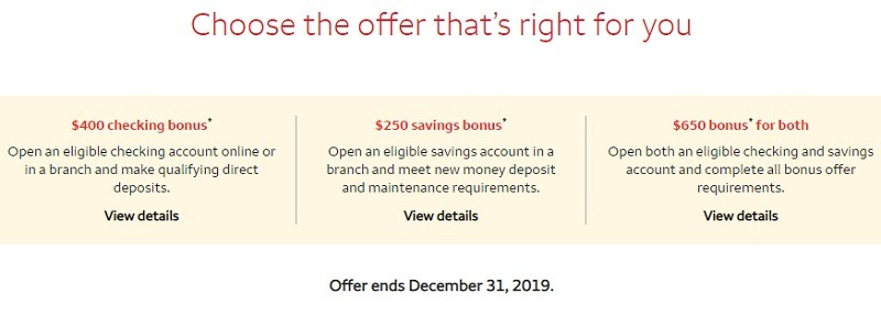 Wells Fargo Promotion