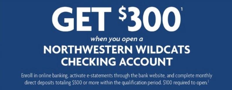 $300 Checking Bonus