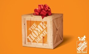 egifter Home Depot Promotion, $110 GC for $100