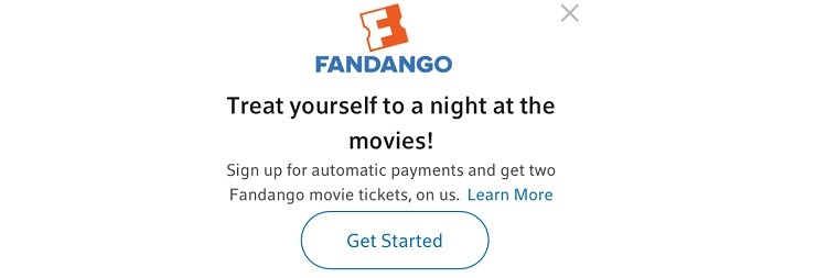 Fandango / FandangoNow Promotions, Coupon Codes, Discounts