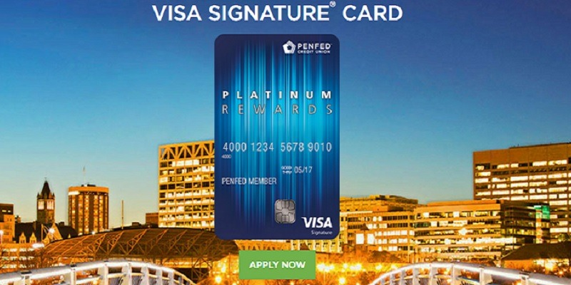 PenFed Platinum Rewards Visa Signature Card $100 Bonus