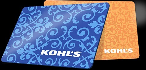 Earn 10x Reward Points with Kohl's Gift Cards