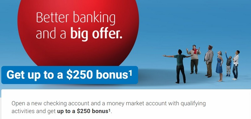 BMO Harris Bank Promotions September 2019: $250, $500