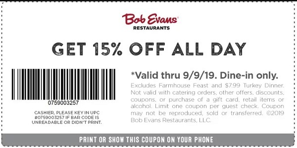 picture about Bob Evans Printable Coupons identify Bob Evans Bargains, Coupon codes, Low cost Promo Codes, Promotions
