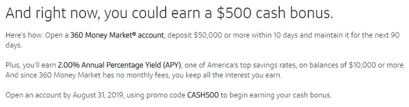 Capital One 360 Promotion