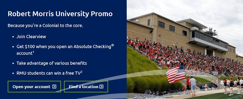 Clearview Federal Credit Union Promotion