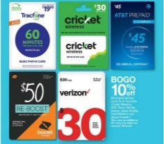 Target BOGO 10pct Airtime Gift Cards Promotion, Going On Now