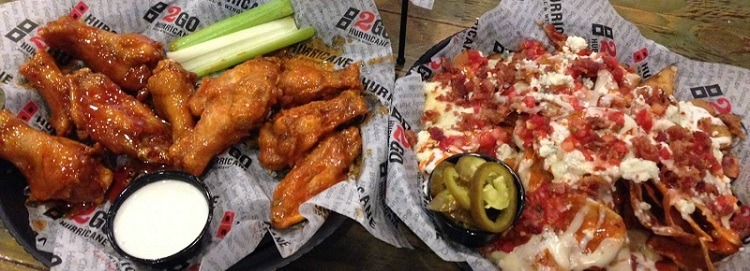 Hurricane Grill Wings Promotions