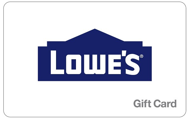 $200 Lowe's Gift Card for $180