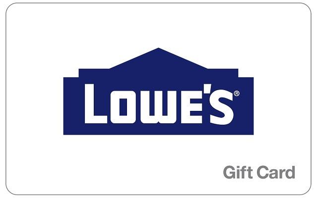 $25 Off $300 Lowe's GC