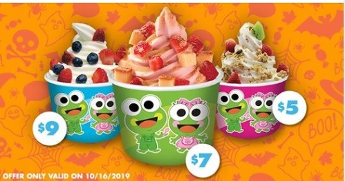 sweetfrog frozen yogurt no weight promotion