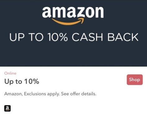 Earn Up to 10% Cash Back at Amazon