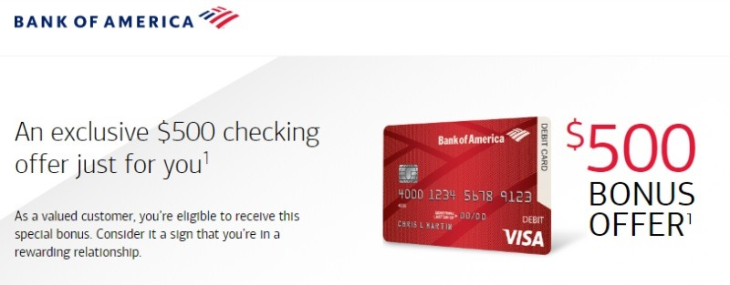 Bank of America Promotion