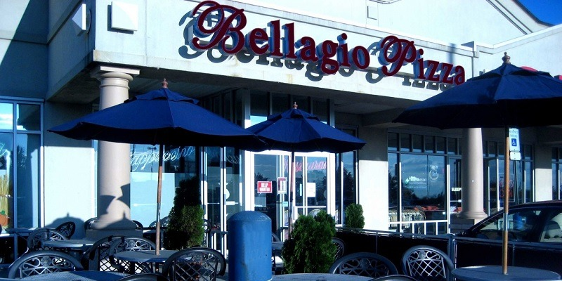 Bellagios Pizza promotion