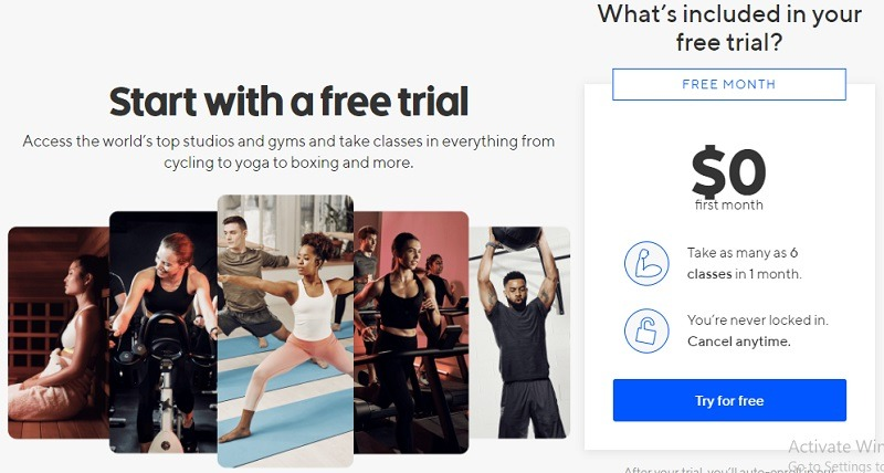 The Best Strategy To Use For Classpass Trial