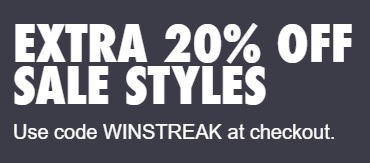 nike promotional offer extra 20 off sale