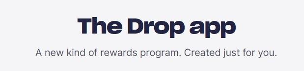 Drop App promotion
