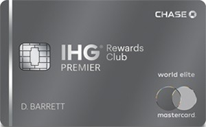 IHG Rewards Club Premier Credit Card Bonus